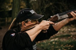 Lady shooting lessons